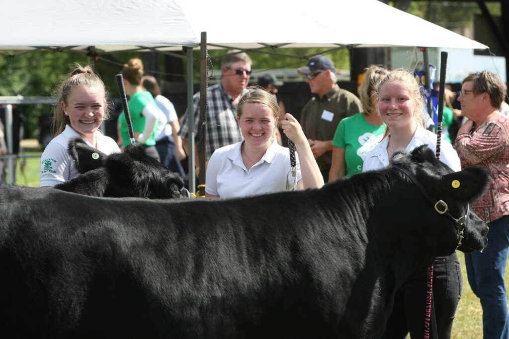 Beeton Fair Livestock Exhibitors