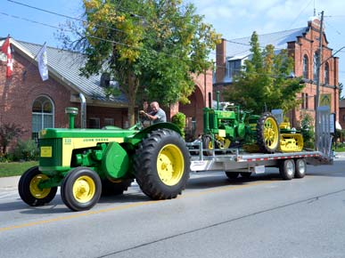Tractor in Parade