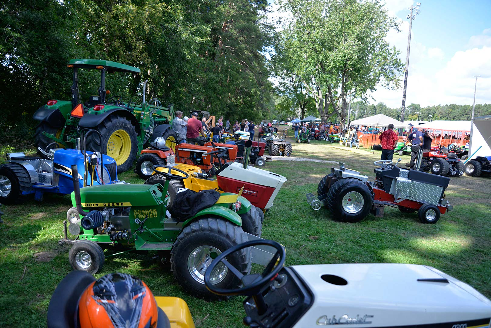 Garden Tractor Pull at Beeton Fair