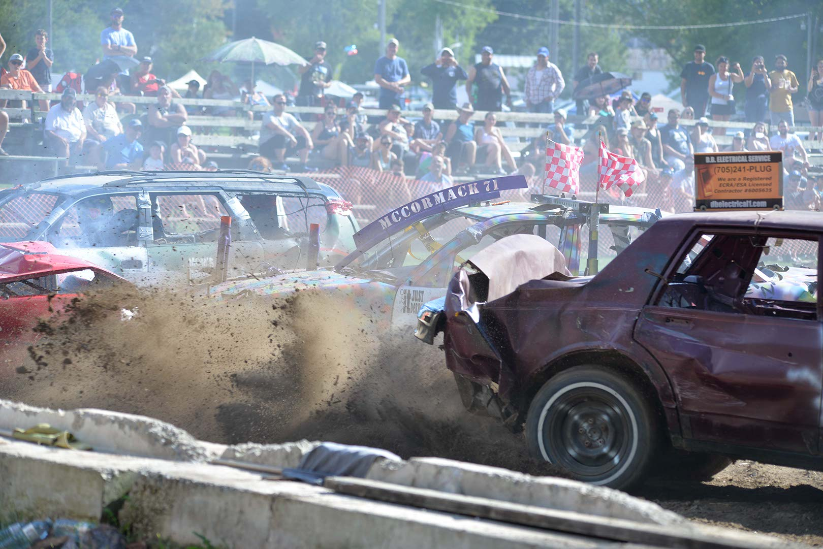 Demolition Derby at Beeton Fair